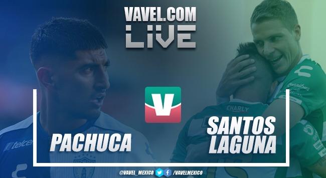 Resultado y goles del Pachuca 1-1 Santos en Liga MX 2018