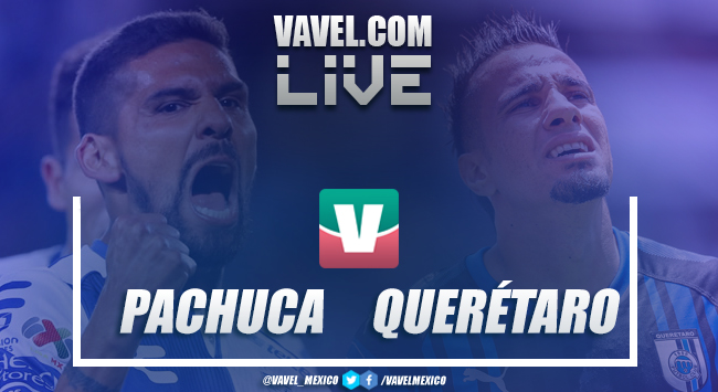 Sagal anotó golazo en victoria del Pachuca ante Querétaro