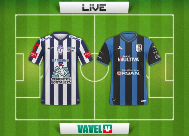 Resultado Pachuca - Querétaro en Liga MX 2015 (2-1)