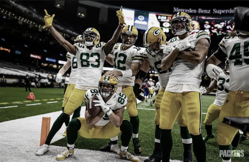 Packers derrotam Saints e mantém invencibilidade na temporada da NFL