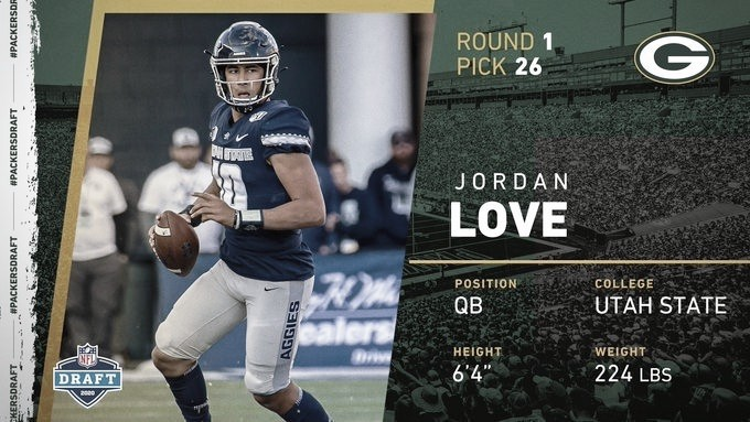 Packers firman al mariscal Jordan Love