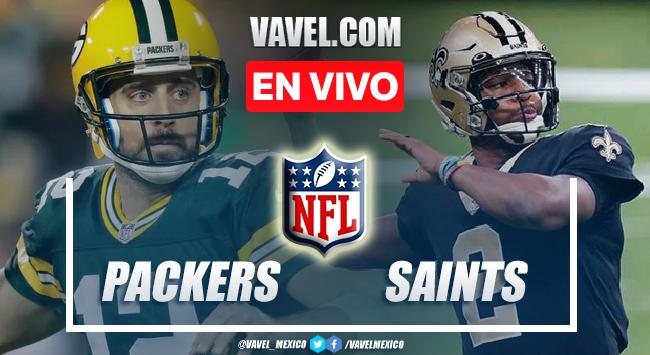 Resumen y anotaciones del Packers 3-38 Saints en NFL 2021