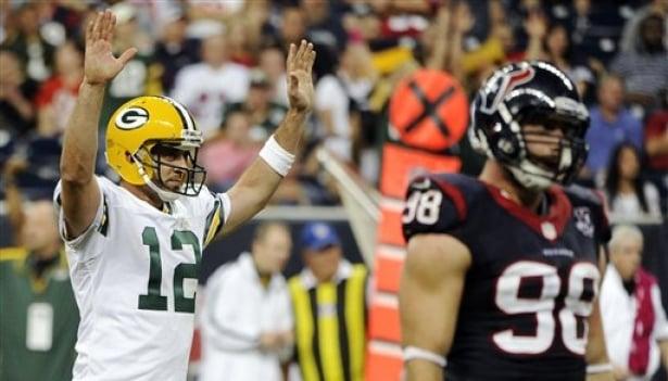 Packers empaquetó a Texans