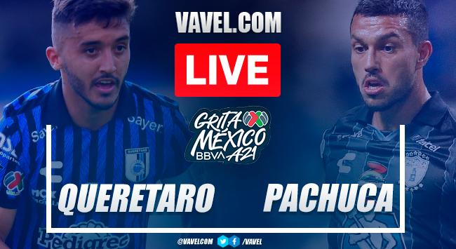Goals and highlights: Queretaro 0-2 Pachuca in Liga MX 2021