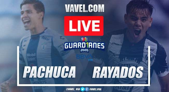 Goals and Highlights: Pachuca 1-1 Rayados, 2020 Liga MX