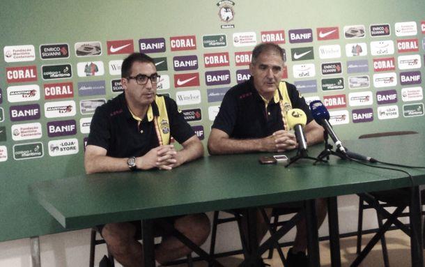 """Paco Herrera: """"Los refuerzos son acertados y nos van ayudar mucho"""""""