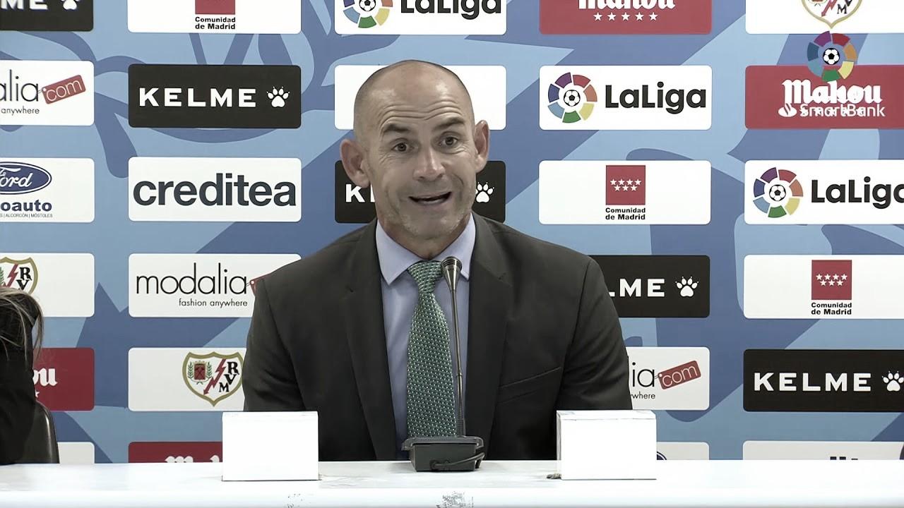 """Paco Jémez: """"Estoy contento con el equipo, pero nos falta más contundencia de cara a gol"""""""