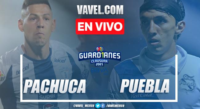 Resumen y Goles del Pachuca 1-3 Puebla en la jornada 15 del Guard1anes 2021