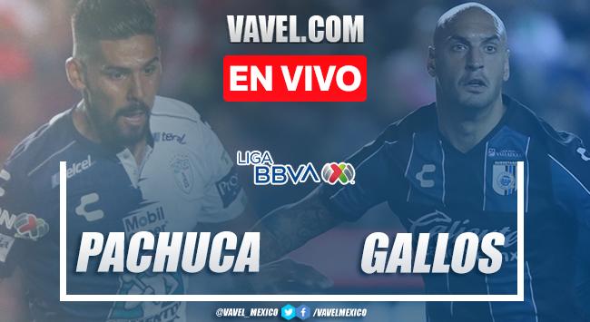 Resumen y goles: Pachuca 1-1 Querétaro, en Liga MX 2020