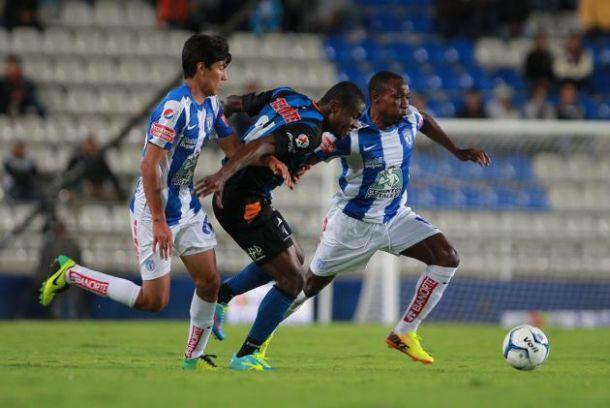 Resultado Querétaro - Pachuca en Liga MX 2014 (3-4)