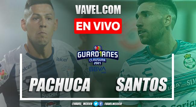 Gol y resumen: Pachuca 1-0 Santos Liga MX Guardianes 2021
