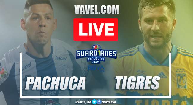 Goals andHighlightsof Pachuca 1-0 Tigres on Liga MX 2021