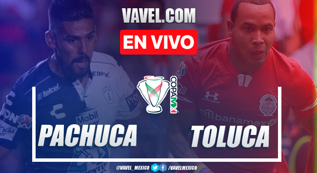 Resumen y goles: Pachuca 2-2 Toluca en Copa MX 2020