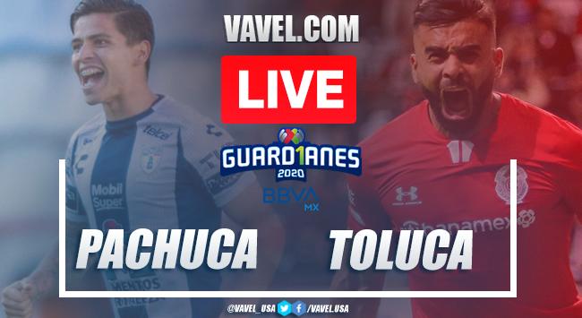 Pachuca vs Toluca: LIVE Stream Online TV Updates and How to Watch Liga MX 2020 (0-0)