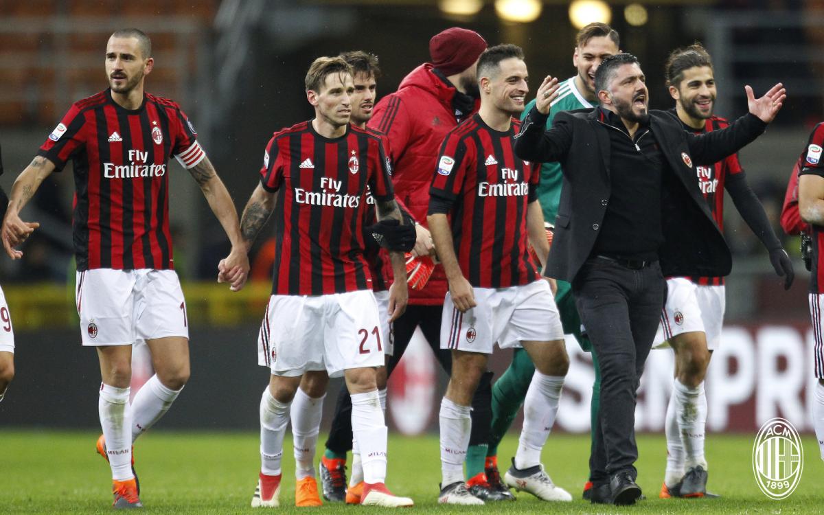 Milan, Gattuso dopo la gara con la Sampdoria