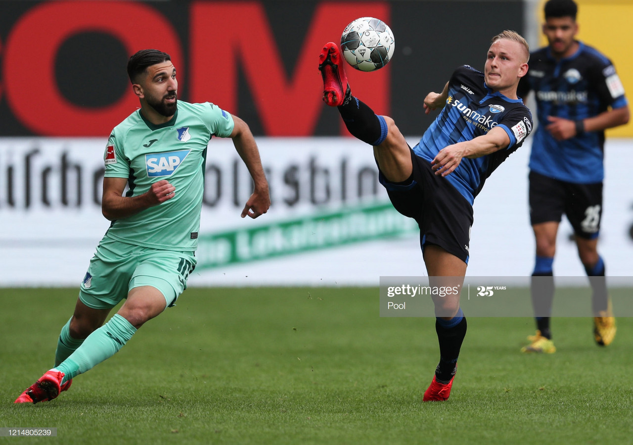 Paderborn 1-1 TSG Hoffenheim: Baumgart's side edging closer to relegation