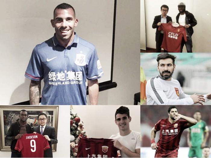 China, el nuevo paraíso del fútbol