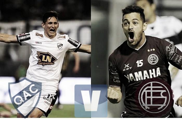Resumen Quilmes 1-0 Lanús en Liga Argentina 2016