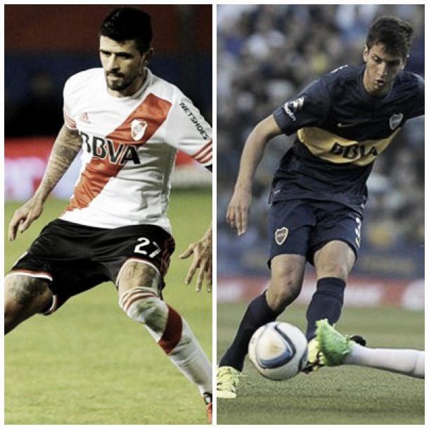 González y Bentancur: cara a cara