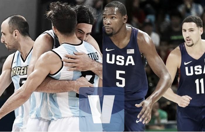 Argentina no pudo ante Estados Unidos y quedó eliminada