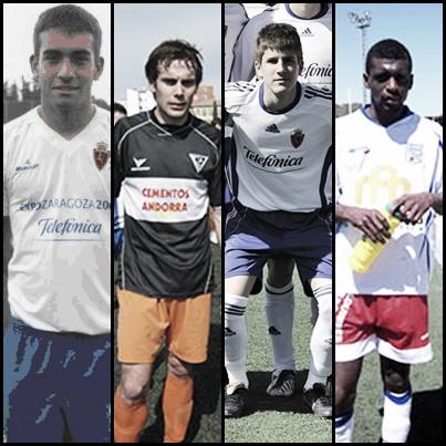 El Real Zaragoza B incorpora a cuatro jugadores