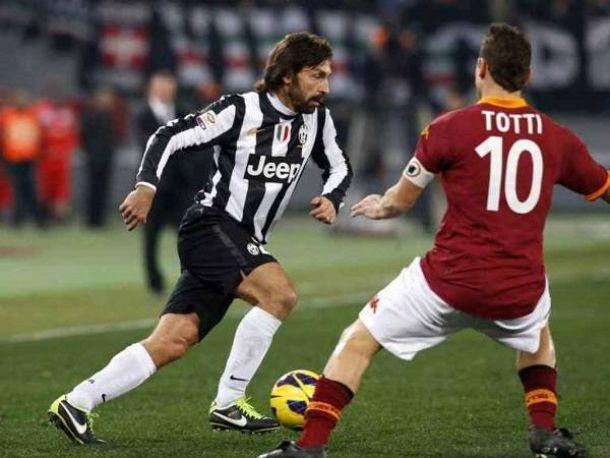 Diretta Roma - Juventus in Serie A