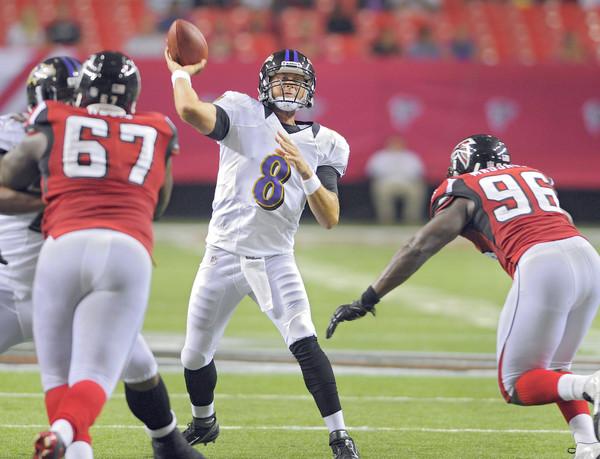 Curtis Painter toma el protagonismo en Atlanta en forma de touchdown
