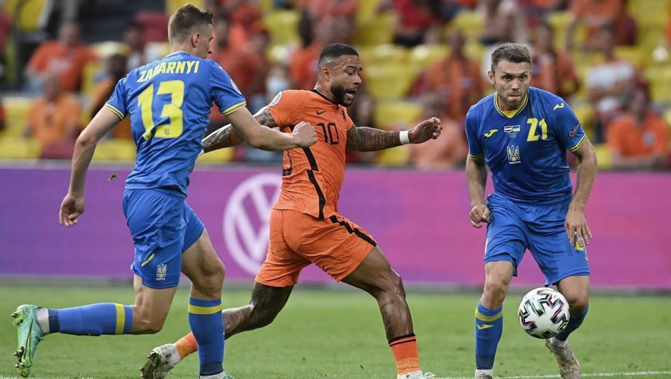 Estreno con victoria de Países Bajos frente a una valiente Ucrania