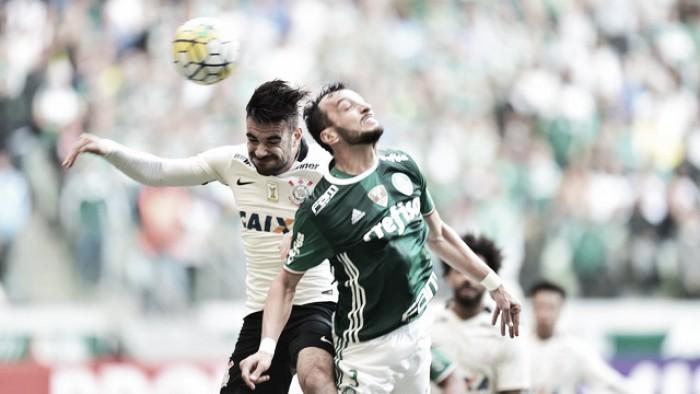 Palmeiras vence, quebra boa sequência do Corinthians e assume vice-liderança do Brasileirão