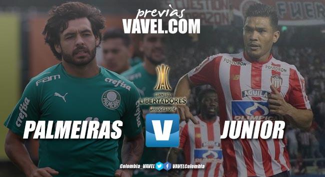 Previa Palmeiras vs Junior de Barranquilla: dos equipos que piensan sumar de a tres