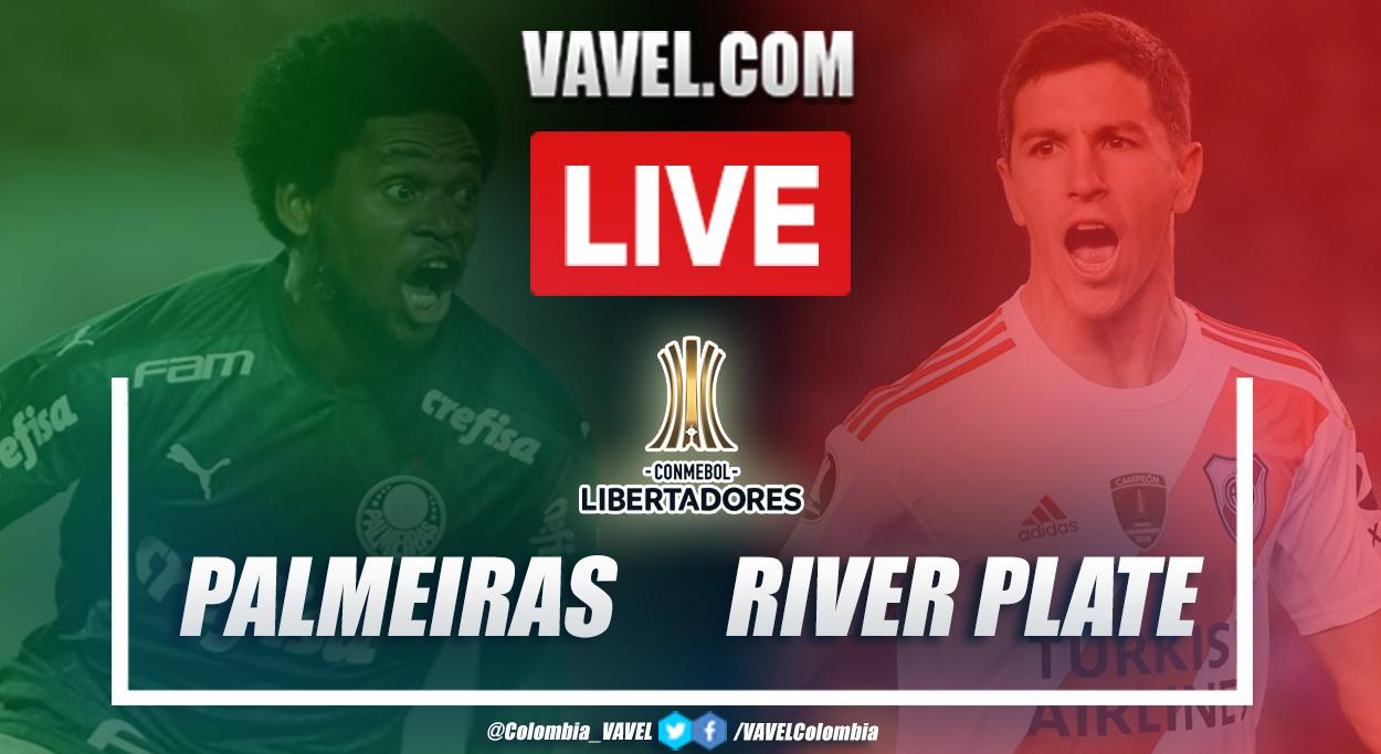 Resumen Palmeiras vs River por la Copa Libertadores (0-2)