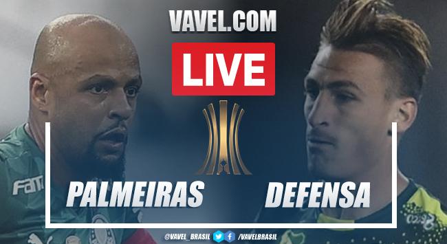 Gols e melhores momentos para Palmeiras x Defensa y Justicia pela Libertadores (3-4)
