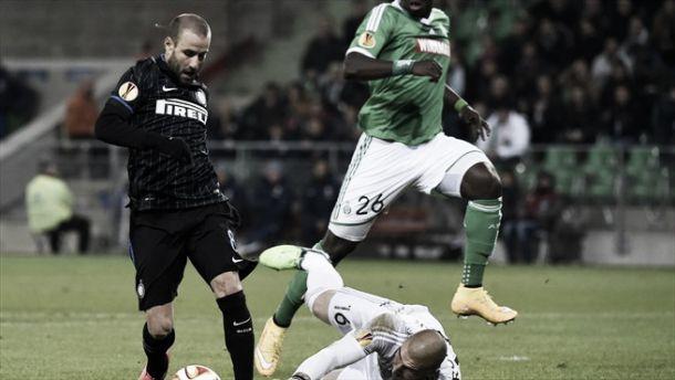 Europa League: l'Inter prima gioca poi trema, pari comunque positivo