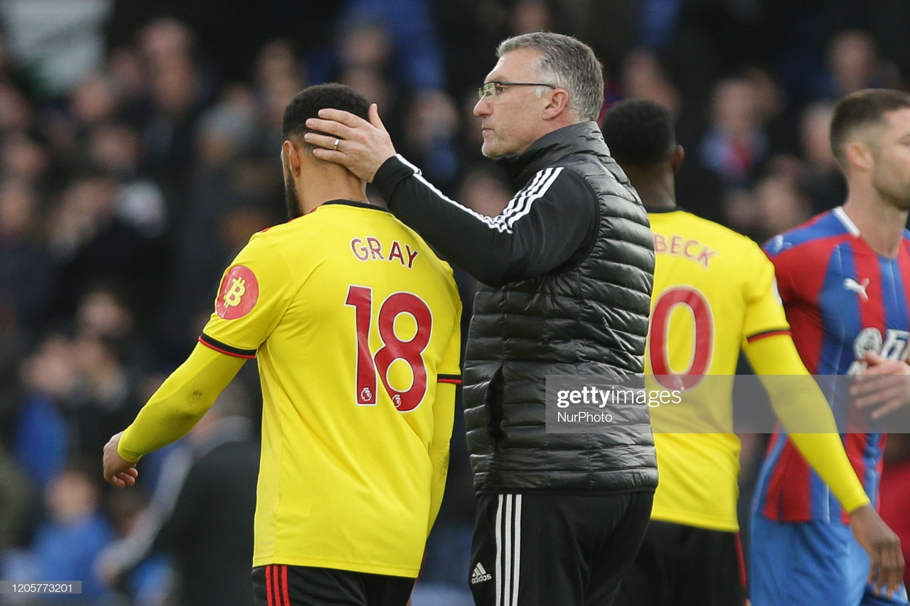 Questions aplenty as Watford slump to disappointing defeat at Crystal Palace