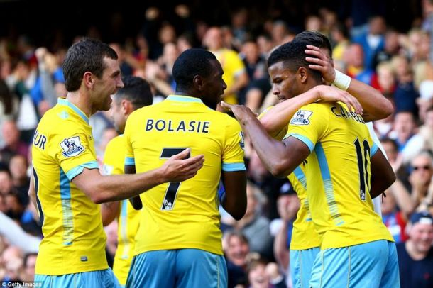 Everton 2-3 Crystal Palace: Eagles get first win in dramatic style
