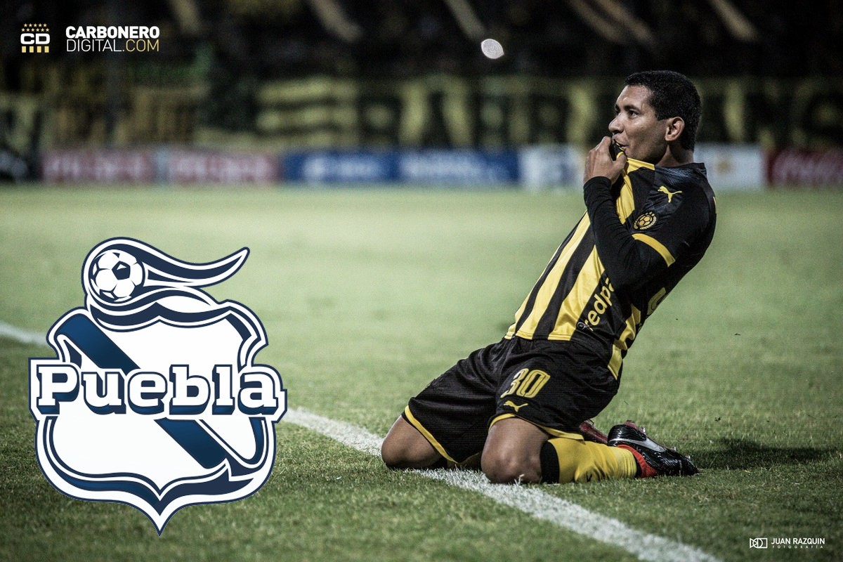 Cristian Palacios, el delantero que reforzará al Puebla
