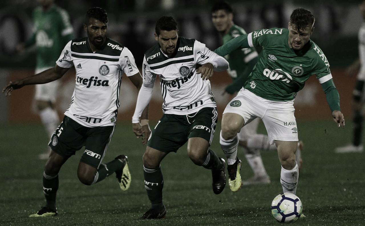 Jogo alviverde! Chapecoense recebe líder Palmeiras pela sétima rodada do Brasileirão