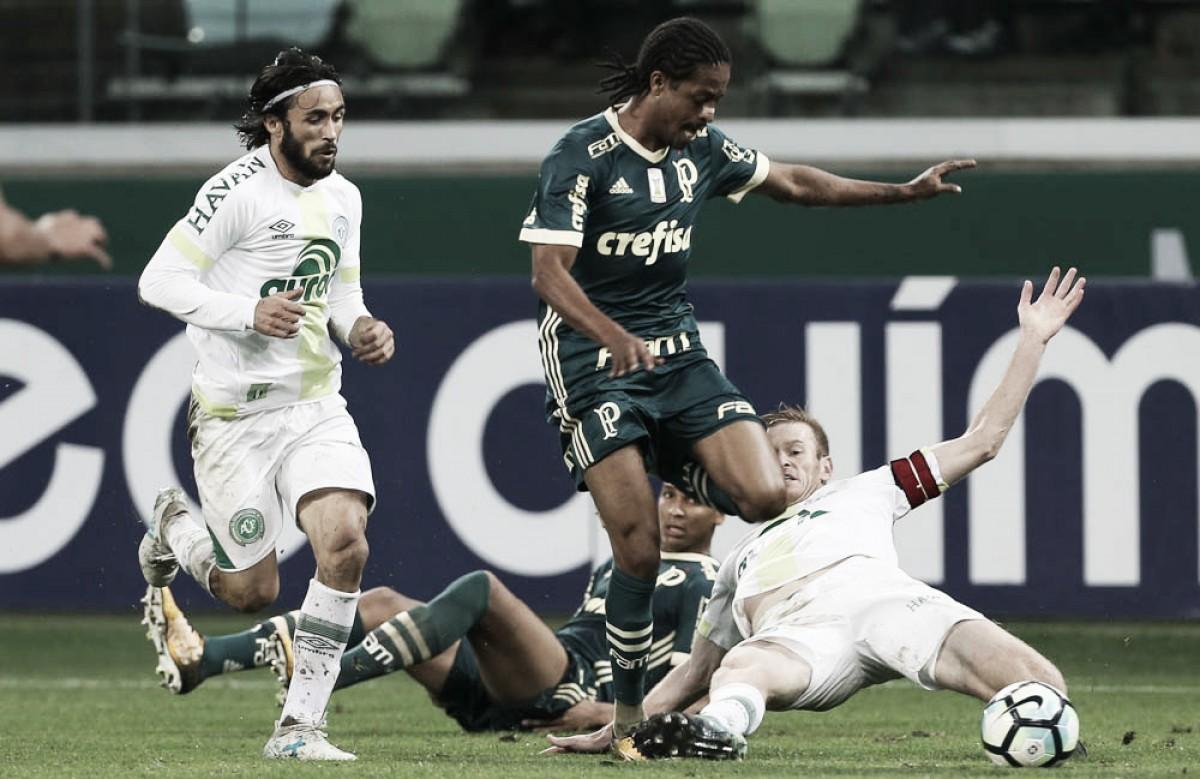 Empolgado, Palmeiras recebe Chapecoense com dúvidas na escalação após sequência de jogos
