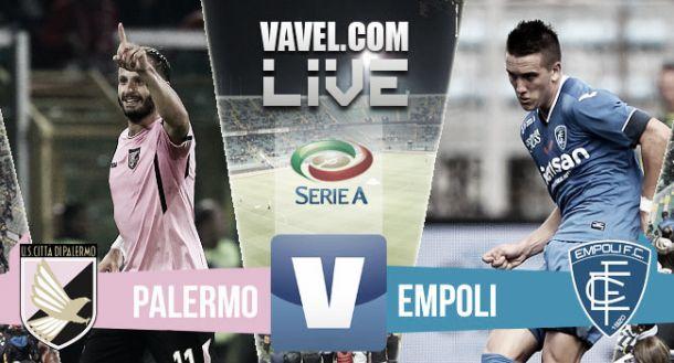 Live Palermo - Empoli in Serie A 2015/16 (0-1)