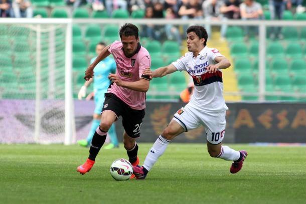 Live Palermo - Genoa, risultato della partita di Serie A 2015/16 in diretta 1-0