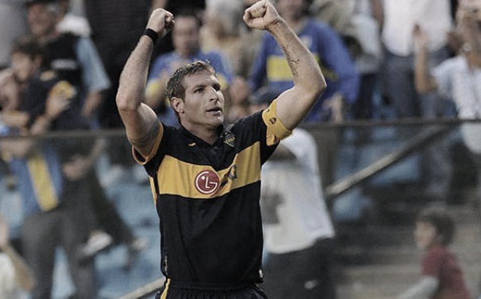 A lo largo de su carrera en Boca, Palermo disputó 404 partidos y convirtió 236 goles. Foto: Mediotiempo.