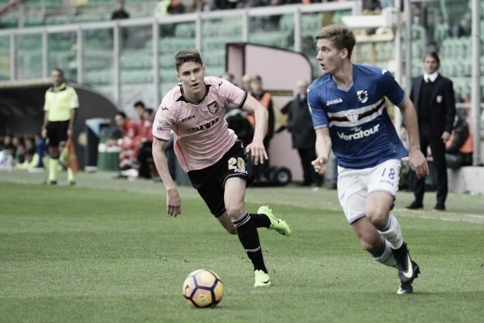 Palermo, che beffa! La Samp la pareggia all'ultimo (1-1)