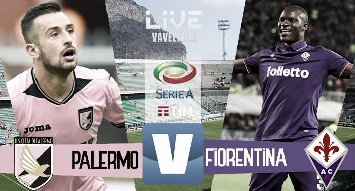Terminata Palermo - Fiorentina in Serie A 2016/17 (2-0): Decide Diamanti, la chiude Aleesami