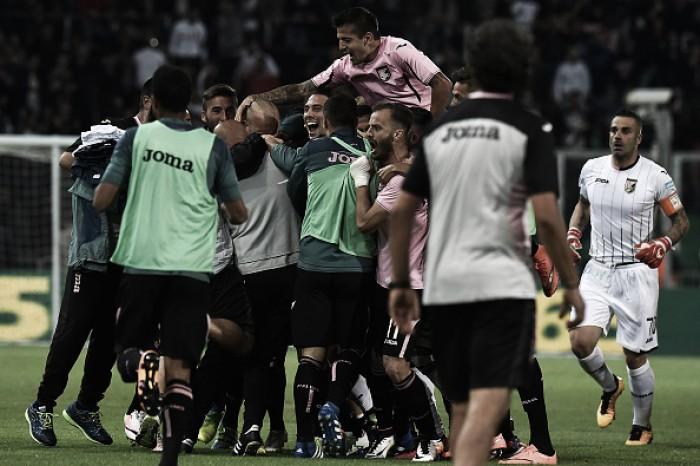 Palermo bate Hellas Verona e se salva do rebaixamento; Carpi vence, mas não evita queda