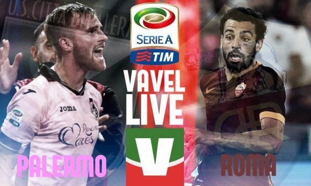 Live Palermo - Roma, risultato partita Serie A 2015/16  (2-4)