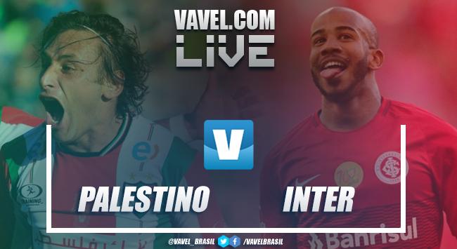 Palestino x Internacional AO VIVO hoje na Copa Libertadores (0-1)