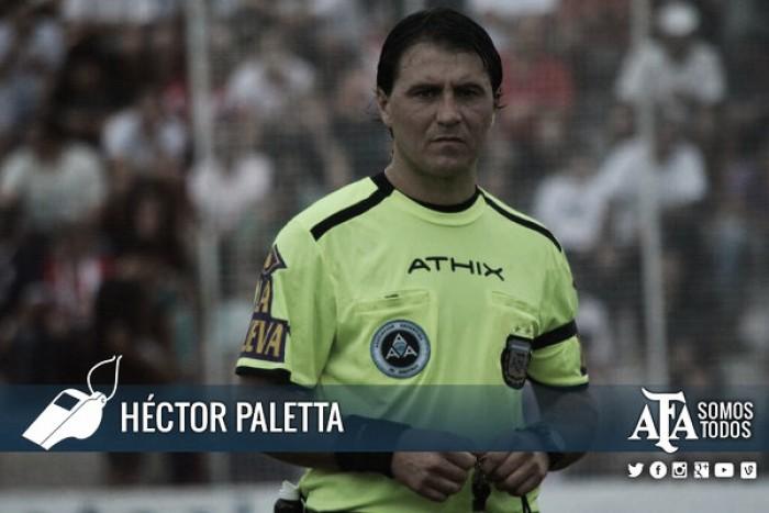 Héctor Paletta será el árbitro designado