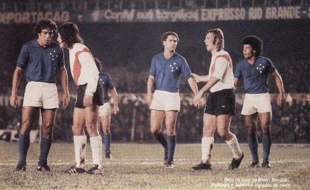A imagem do Cruzeiro resplandeceu na América em 1976