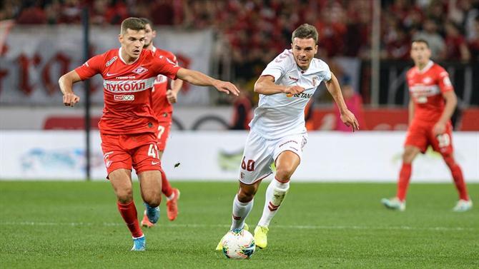 Braga elimina Spartak e segue na Liga Europa
