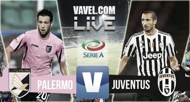 Live Palermo - Juventus, Serie A 2015/16 in diretta